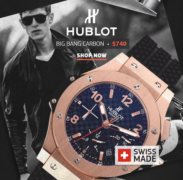Hublot Big-Bang Carbon Swiss Replicas